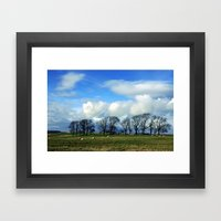 Hadrian's Wall Framed Art Print