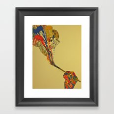 Paint Framed Art Print