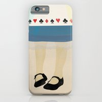 alice in wonderland iPhone & iPod Cases featuring Alice In Wonderland by magicblood
