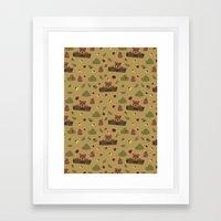 Bears And Beetles  Framed Art Print