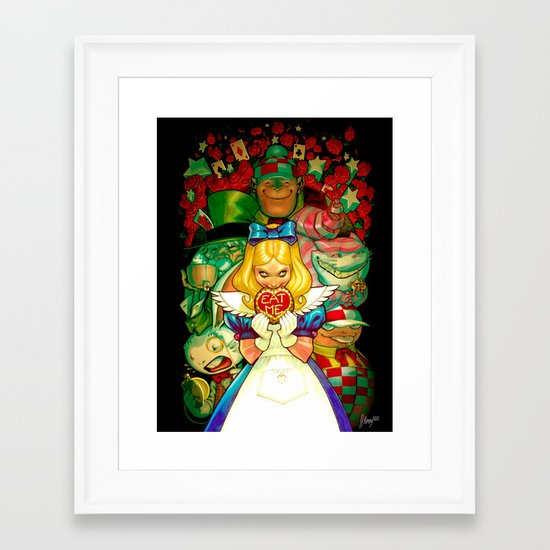 Hello Alice Framed Art Print