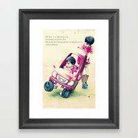 Children stuff Framed Art Print