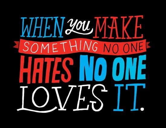 No One Loves It. Art Print