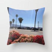 Santa Barbara Brunch Throw Pillow