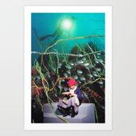 Reading Light Art Print