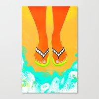 Summer Movies Canvas Print