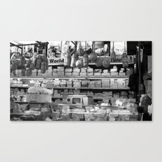 A world of cheese Canvas Print