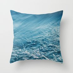 cold embrace Throw Pillow