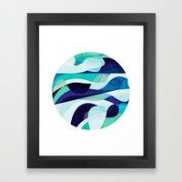Bottomless Ocean Framed Art Print