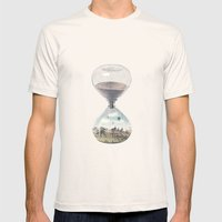 There's A City Where Tim… Mens Fitted Tee Natural SMALL