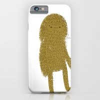 iPhone & iPod Case featuring Sasquatch man by Lori Joy Smith