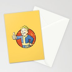 Fallout Vault boy Stationery Cards
