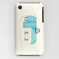 iPhone Cases featuring Caravan Palace by One Curious Chip