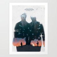 True Detective - The Lon… Art Print