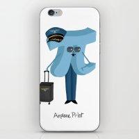 Airplane Pi-lot iPhone & iPod Skin