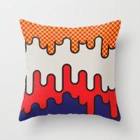 Lichtenstein Throw Pillow