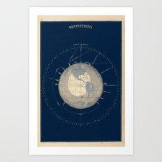 The Heavens Art Print