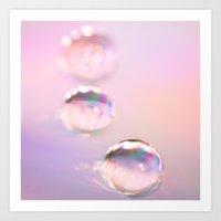 droplet,droplets Art Print