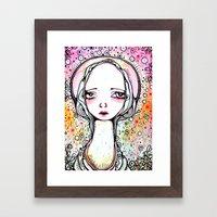 Saint Chloe Framed Art Print