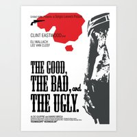 The Good, The Bad And Th… Art Print