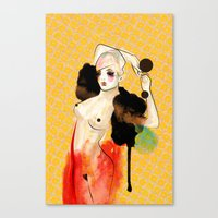 Just Another Night... Canvas Print