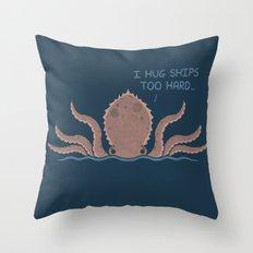 Monster Issues - Kraken Throw Pillow