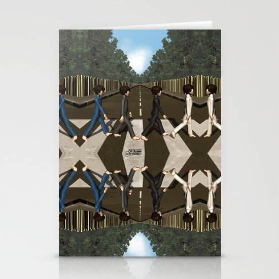 Abbey Road Stationery Card