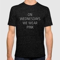 Mean Girls #8 – Pink Mens Fitted Tee Tri-Black SMALL