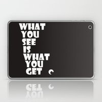 What You See Laptop & iPad Skin