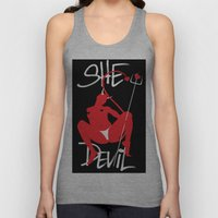 She Devil Unisex Tank Top