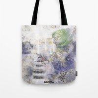 GREEN PIANOFORTE Tote Bag