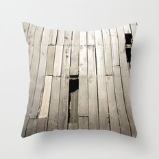 summer floor Throw Pillow