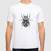 Diaboli Scarabæus - The Devil's Beetle Mens Fitted Tee Ash Grey SMALL