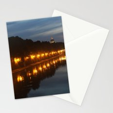 Rome evening Stationery Cards