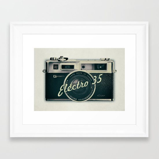 Electro 35 Framed Art Print