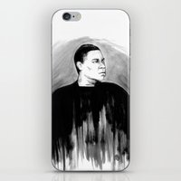 DARK COMEDIANS: Tracy Mo… iPhone & iPod Skin
