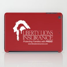 Liberty Lion Insurance Logo iPad Case