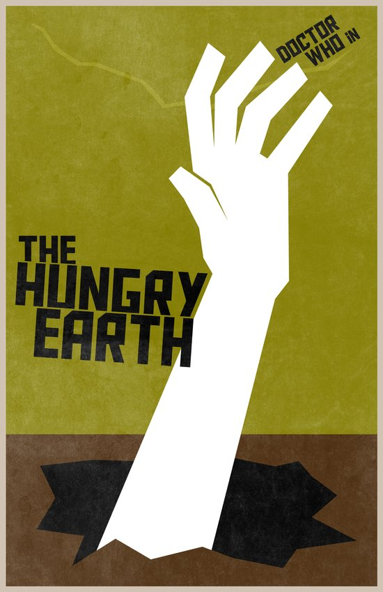 The Hungry Earth (8 in a series of 13) Art Print