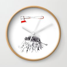 Oak - AP Wall Clock