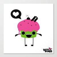 Heart Cuppy Canvas Print