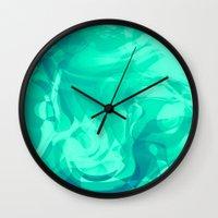 Reflective Musing Wall Clock