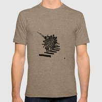 Muto Mens Fitted Tee Tri-Coffee SMALL