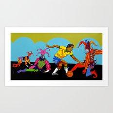 Garrincha Art Print