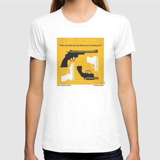 No087 My Taxi Driver minimal movie poster T-shirt