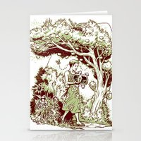 Intersectional Nature Stationery Cards