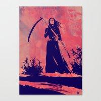 Lady D Canvas Print