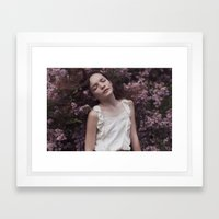 Emily in Reverie II Framed Art Print