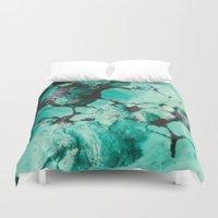 Turquoise  Duvet Cover