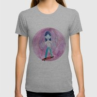 Cats are cool Womens Fitted Tee Athletic Grey SMALL