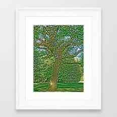 Enchanted Tree Framed Art Print
